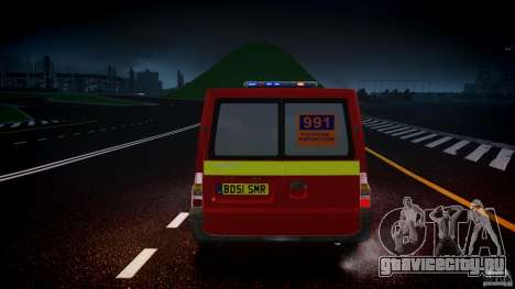 Ford Transit Polski uslugi elektryczne [ELS] для GTA 4 салон