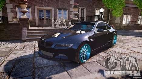 BMW E92 для GTA 4 двигатель