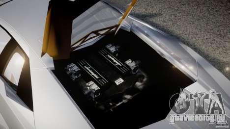 Lamborghini Reventon v2 для GTA 4 вид сверху