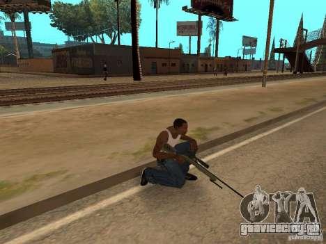 M40A3 для GTA San Andreas четвёртый скриншот