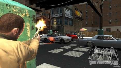 Gold Desert Eagle для GTA 4 второй скриншот