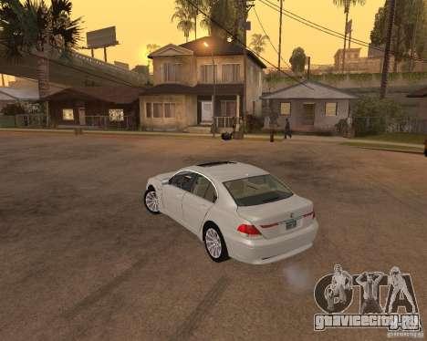 BMW 760I 2002 для GTA San Andreas вид слева