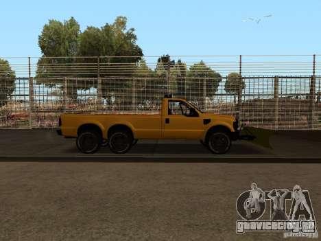 Ford Super Duty F-series для GTA San Andreas вид справа
