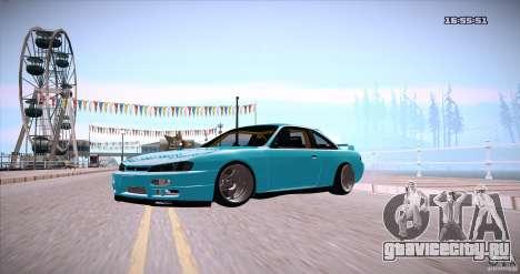 Nissan Silvia S14 JDM WAY для GTA San Andreas вид справа
