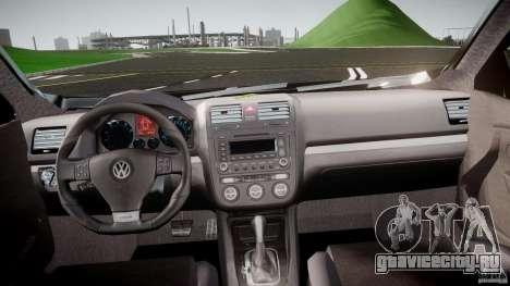 Volkswagen Jetta 2008 для GTA 4 вид справа