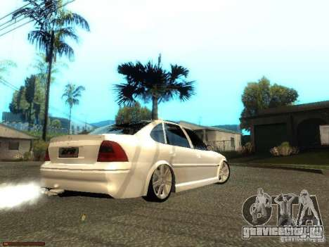 Chevrolet Vectra CD 2.2 16V 2003 для GTA San Andreas вид сзади слева