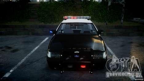 Ford Crown Victoria SFPD K9 Unit [ELS] для GTA 4 вид сверху