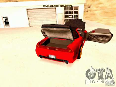 Acura NSX Stance Works для GTA San Andreas вид сзади