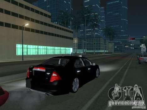 Ford Fusion для GTA San Andreas вид справа