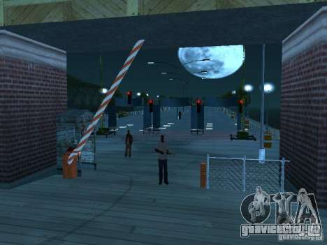 Drag-трасса v2.0 Final для GTA San Andreas