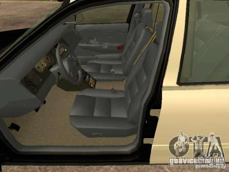 Ford Crown Victoria 2003 Police для GTA San Andreas вид сзади слева