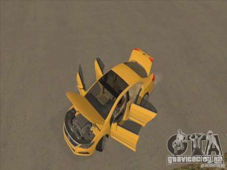 Volkswagen Passat CC для GTA San Andreas вид сверху