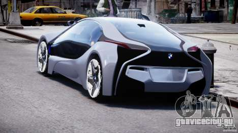 BMW Vision Efficient Dynamics v1.1 для GTA 4 вид сзади слева