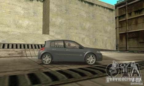 Renault Megane II 2005 для GTA San Andreas вид справа