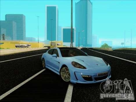 Gemballa Mistrale 2010 V1.0 для GTA San Andreas вид сзади слева