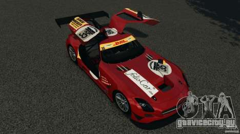 Mercedes-Benz SLS AMG GT3 2011 v1.0 для GTA 4 вид снизу