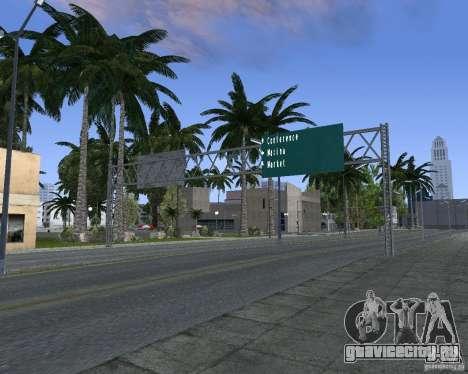 Дорожные указатели v1.1 для GTA San Andreas шестой скриншот