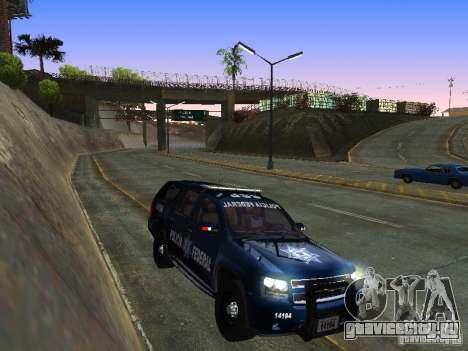 Chevrolet Tahoe 2008 Police Federal для GTA San Andreas