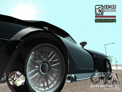Banshee из GTA IV для GTA San Andreas вид справа
