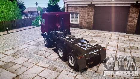 КамАЗ 5410 для GTA 4 вид изнутри