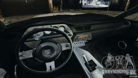 Dodge Challenger Concept 2006 для GTA 4 вид сзади