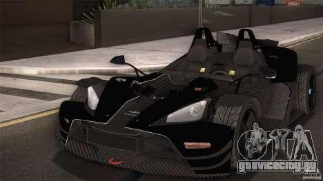 KTM-X-Bow для GTA San Andreas салон