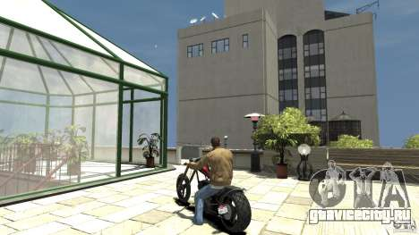 The Lost and Damned Bikes Diabolus для GTA 4 вид сзади слева