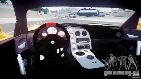 Dodge Viper SRT-10 ACR 2009 v2.0 [EPM] для GTA 4 вид справа