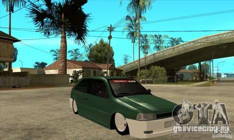 Volkswagen Gol v1 для GTA San Andreas вид сзади