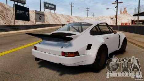 Porsche 911 Carrera RSR 3.0 Coupe 1974 для GTA 4 вид сзади слева