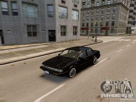 Oldsmobile Cutlass Ciera 1993 для GTA 4 вид сбоку