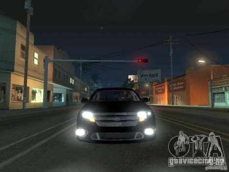 Ford Fusion для GTA San Andreas вид слева