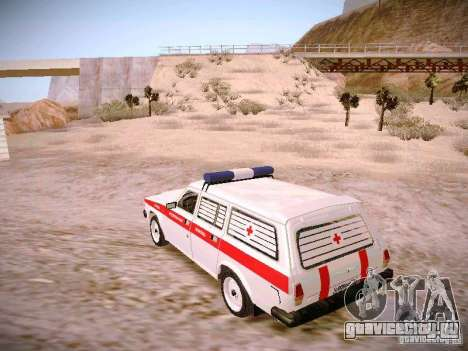 ГАЗ 310231 Скорая для GTA San Andreas вид слева