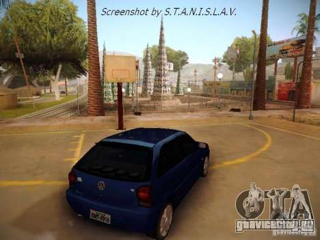 Volkswagen Golf V2.0 Final для GTA San Andreas вид слева