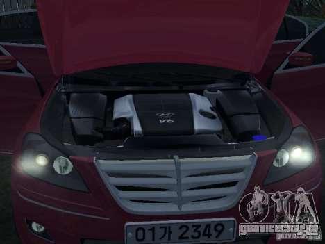 Hyundai Genesis для GTA San Andreas вид сбоку
