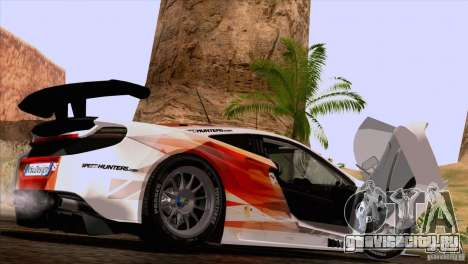 McLaren MP4-12C Speedhunters Edition для GTA San Andreas вид справа