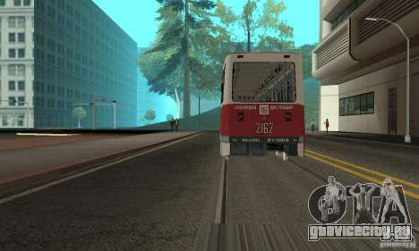 KTM5-2162 для GTA San Andreas вид слева