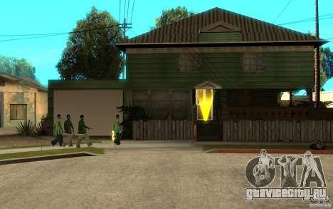 Русская хата сиджея для GTA San Andreas пятый скриншот