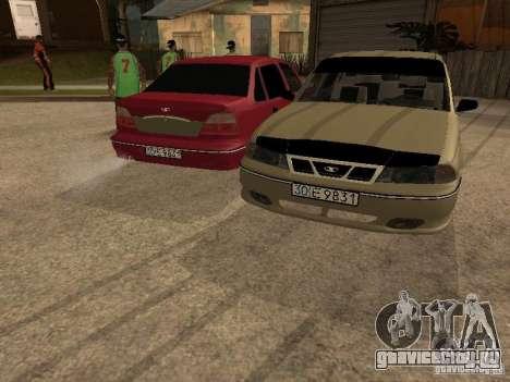 Daewoo Nexia для GTA San Andreas вид снизу