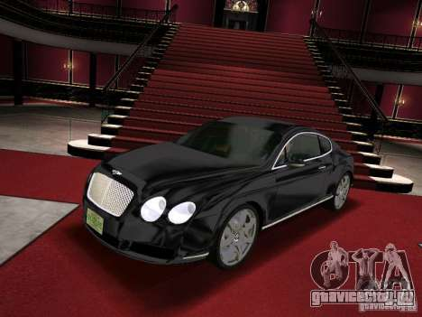 Bentley Continental GT для GTA Vice City