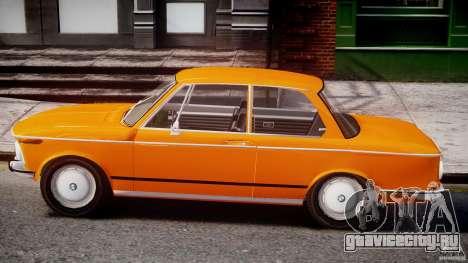 BMW 2002 1972 для GTA 4 вид сзади слева