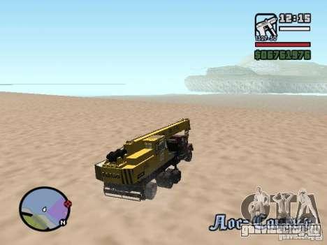 КрАЗ-250 MKAT-40 для GTA San Andreas вид сбоку