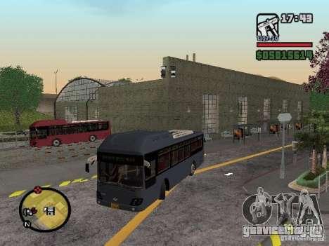 Daewoo BS110CN для GTA San Andreas