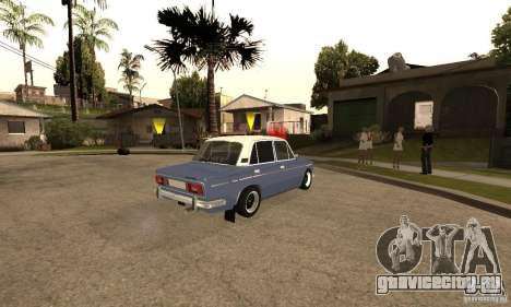 ВАЗ 2106 Old v2.0 для GTA San Andreas салон