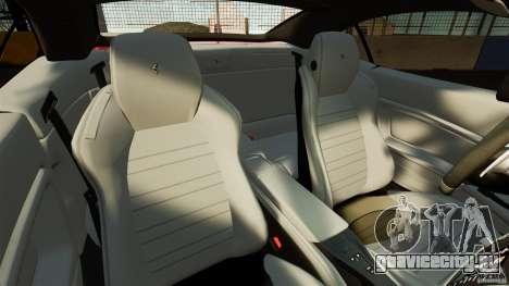 Ferrari California Novitec для GTA 4 вид изнутри