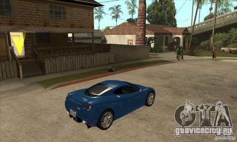 Ascari KZ1 для GTA San Andreas вид справа