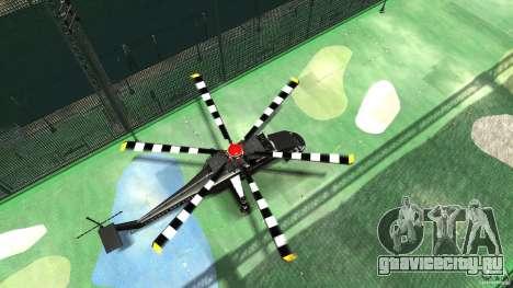 Liberty Sky-lift для GTA 4 вид сзади