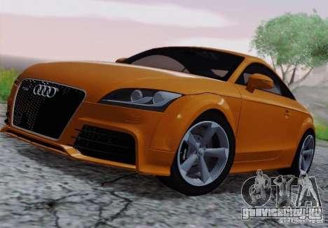 Audi TT-RS Coupe для GTA San Andreas вид сзади