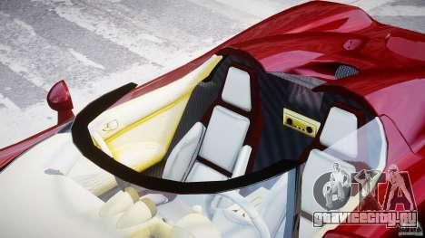 Koenigsegg CCRT для GTA 4 вид сверху