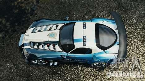 Dodge Viper SRT-10 ACR ELITE POLICE [ELS] для GTA 4 вид справа